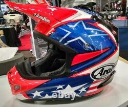 Arai VX Pro 4 Nicky 7 NO SALES TAX option motorcycle helmet Hayden US Flag Star