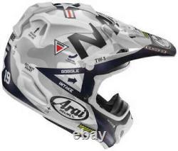 Arai VX-Pro4 Navy Full Face Premium Offroad Motorcycle Helmet Size Large L