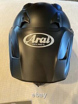 Arai XD4 Black Frost Motorcycle Full Face Helmet Medium 7-7 1/8 DOT Snell M2010