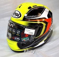 Arai full face helmet RX-7X CORSAIR-X BRACKET RX-7V MAZE yellow Casque casco He