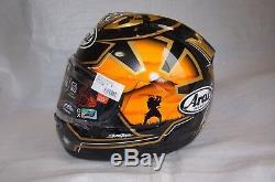 Arai helmet RX-7X CORSAIR-X RX-7V PEDROSA SAMURAI Spirits type 1 black Casque ca