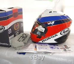 Arai helmet RX-7X Corsair-X RX-7 V Honda HRC VFR750R RC30 30th anniversary ltd
