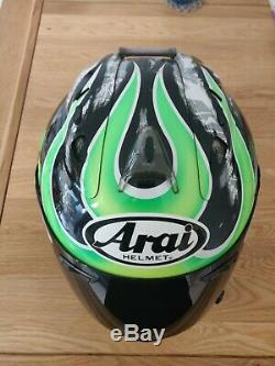 Arai rx7 gp helmet (Cal Crutchlow Replica)