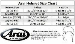 Asian fit Arai Full face helmet RX-7X NAKAGAMI GP2 Corsair-X RX-7V SNELL M2020D