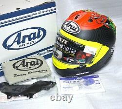 Asian fit Arai Full face helmet RX-7X TATSUKI SUZUKI Corsair-X RX-7V SNELL M2020
