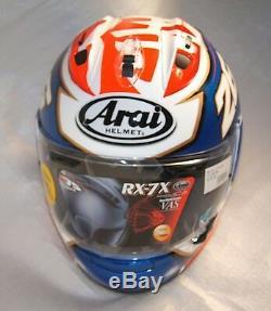 Asian fit Arai full face helmet RX-7X CORSAIR-X RX-7V SAMURAI DANI PEDROSA