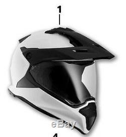 BMW Motorrad GS Carbon Helmet WHITE SIZE 56/57. EX DISPLAY WAS £425, NOW 299