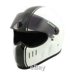 Bandit XXR Classic Full Face Helmet White/Black