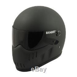 Bandit XXR Full Face Helmet Matt Black