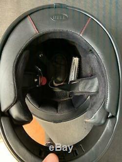 Bell Bullitt Carbon Helmet Hustle Matt/gloss Red/sand/candy Blue Size L 58-5