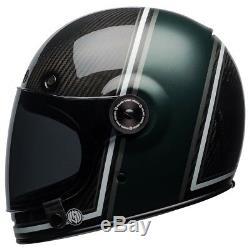 Bell Bullitt Carbon Motorcycle Helmet RSD Green / Black (40% off) ALL SIZES
