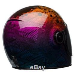 Bell Bullitt SE Full Face Motorcycle Helmet Hart Luck Metallic Bubbles Large