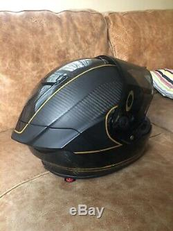 Bell Carbon Helmet Bell Race Star Ace Cafe Speed Check Helmet XL