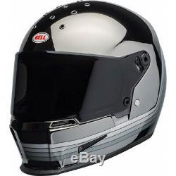 Bell Eliminator Spectrum FullFace Motorcycle Helmet Mirror Chrome Black SRP £350