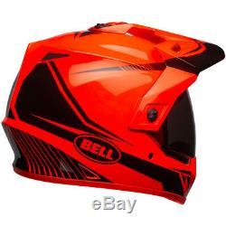 Bell MX-9 Adventure MIPS Torch Gloss Hi- Viz Orange / Black Helmet All Sizes