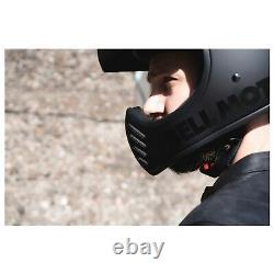 Bell Moto 3 Classic Motorcycle Helmet Matt/Gloss Blackout