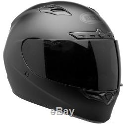 Bell Qualifier DLX Black Out Matte Black Motorcycle Full Face Helmet All Sizes