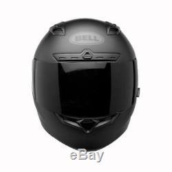 Bell Qualifier DLX Blackout Motocycle Motorbike Helmet Free Black Visor
