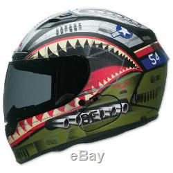 Bell Qualifier DLX Full Face Motorcycle Helmet Devil May Care Size Small