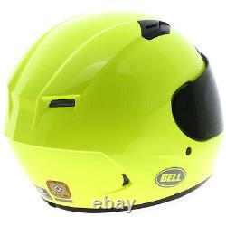 Bell Qualifier DLX Hi-Vis Motorbike Motorcycle Helmet