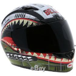 Bell Qualifier DLX Matt Devil May Cry Motorbike Motorcycle Helmet