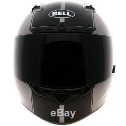 Bell Qualifier DLX Rally Matt Titanium Motorbike Motorcycle Helmet