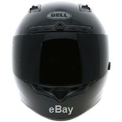 Bell Qualifier DLX Solid Black Motorbike Motorcycle Helmet