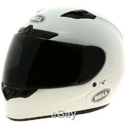 Bell Qualifier DLX Solid White Motorbike Motorcycle Helmet