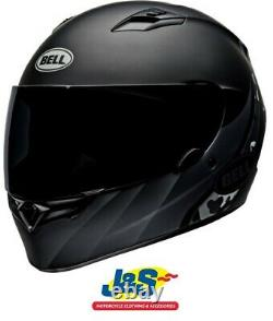 Bell Qualifier Integrity Matt Black Titanium Camo Motorcycle Helmet Race J&S