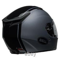 Bell RS-2 Rally Full Face Motorcycle Helmet Retro Race Gloss Black Titanium J&S