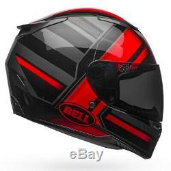 Bell RS-2 Tactical Red & Black Motorcycle Helmet