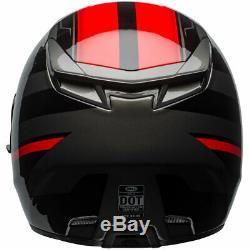 Bell RS-2 Tactical Red / Black / Titanium Motorbike Full Face Motorbike Helmet