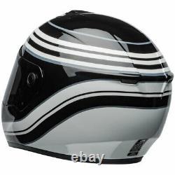 Bell SRT Predator Motorbike Motorcycle Helmet Vestige Gloss White / Black