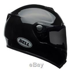 Bell SRT Solid Black Motorbike Helmet