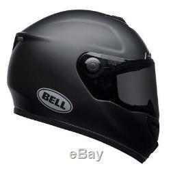 Bell SRT Solid Matte Black Motorbike Helmet
