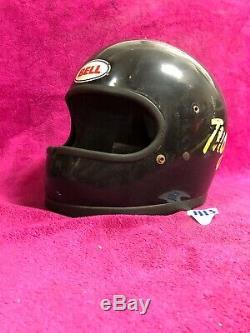 Bell Star Vintage Racing Full Face Helmet Sprint Car Drag Boat Bike Chopper