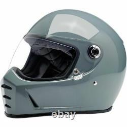 Biltwell B20 Lane Splitter Solid Mens DOT Street Bike Riding Motorcycle Helmets