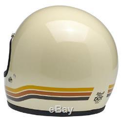 Biltwell Gringo Full Face Retro Helmet Vintage Desert
