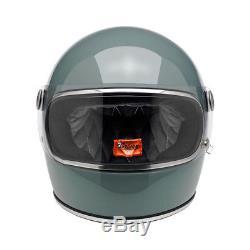 Biltwell Gringo S Full Face Retro Helmet Agave