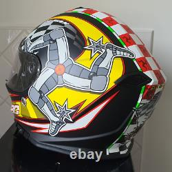 Brand NEW Isle of Man TT Mann3 2020 Road Racing Motorcycle Helmet Matt Finish
