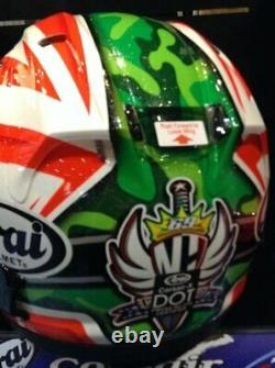CALL for $ Arai Corsair X Nicky 6 Hayden US Flag helmet New Snell 2020
