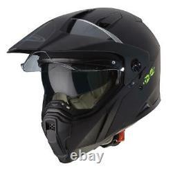 Caberg X-Trace Adventure Motorcycle Helmet Off Road Enduro Dual Sport Black