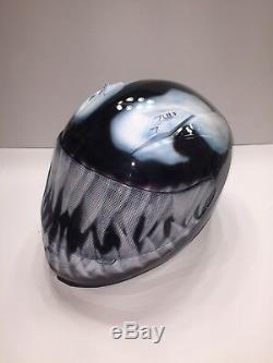 Custom Motorcycle Helmet (Venom)