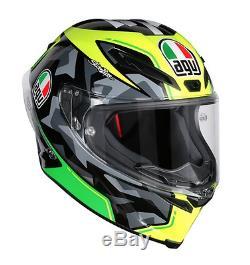 DOT AGV Corsa R Espargaro 2016 Full Face Motorcycle Helmet XLarge