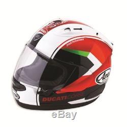 Ducati Corse Arai RX-7V Red Arrow Drudi Track Motorbike Helmet 98103172 SALE L