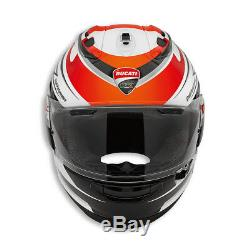 Ducati Corse Speed Motorcycle Motorbike Arai RX-7V Helmet S M L XL 98104051 SALE
