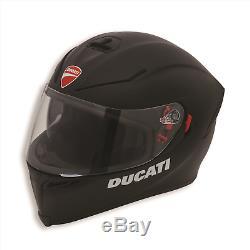 Ducati Dark Rider V2 Motorcycle Helmet Matte Black 98103682 AGV K-5