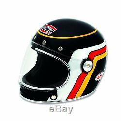 Ducati Helmet Corse Black Track Bell Bullit Motorcycle Motorbike 981033305 L