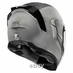 FREE SHIPPING Icon Airflite Quicksilver Full Face DOT Motorcycle Helmet