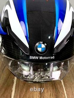 For BMW S1000RR TRICOLOR AG PISTA GP R MOTORCYCLE FULL FACE HELMET MOTOGP CARBON